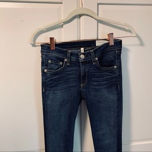 rag and bone skinny jeans Preston wash size 25